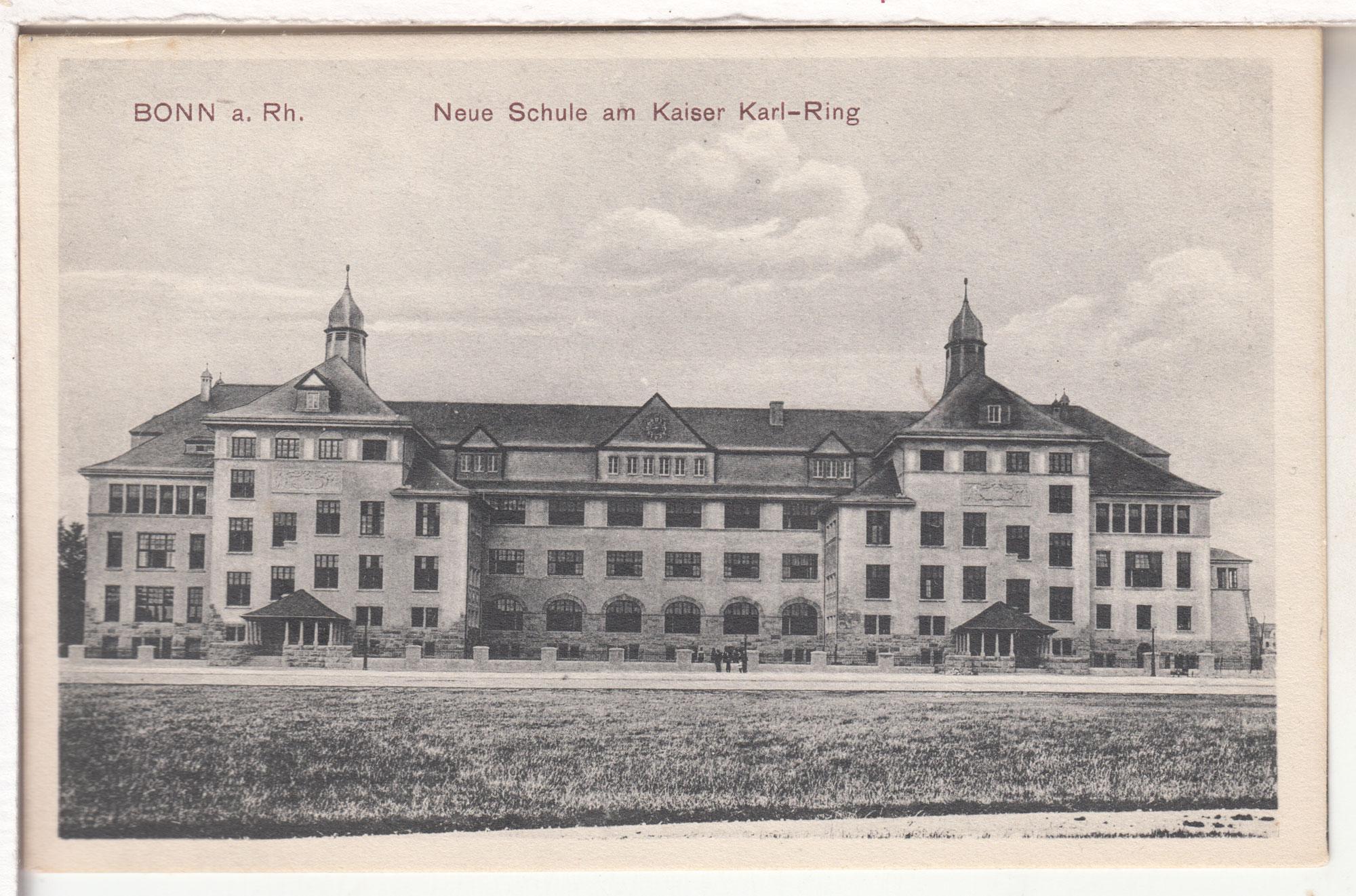 Karlschule 1909